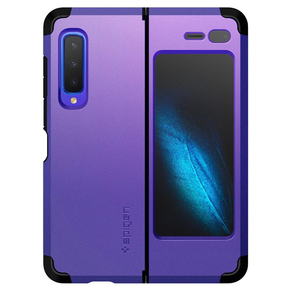 Tough Armor	Astro Blue	Case	back view of the case around the	Galaxy Fold	device.