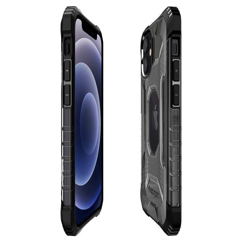 iPhone 12 Mini Case Nitro Force showing the front, back and side