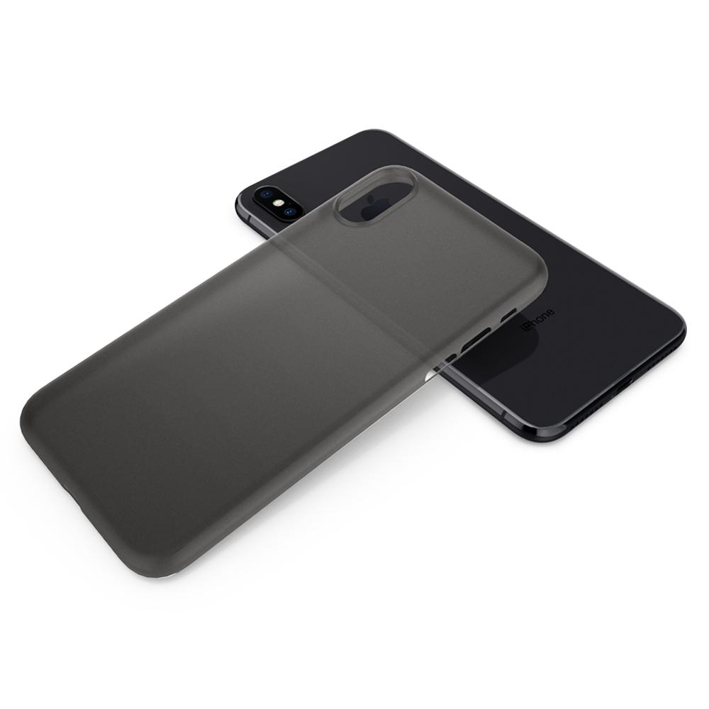 Air Skin	Black	Case	back design and a back view of the	iPhone XR	device.