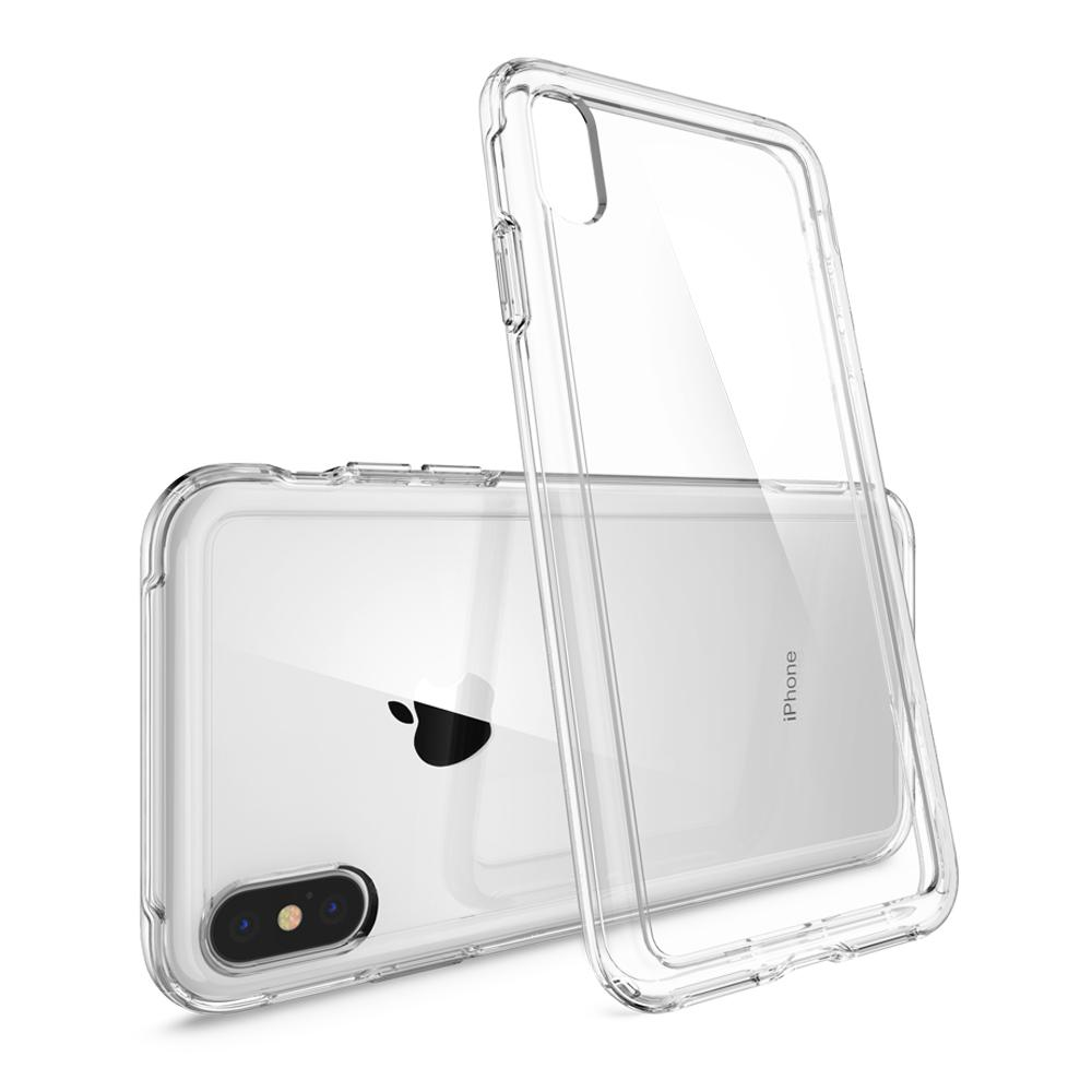 Slim Armor Crystal	Crystal Clear	Case	back design and a back view of the	iPhone XS Max	device.