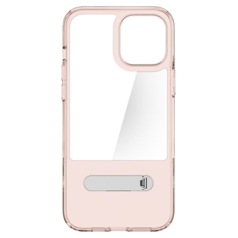 iPhone 12 Pro Max Case Slim Armor Essential S in rose crystal showing the inside