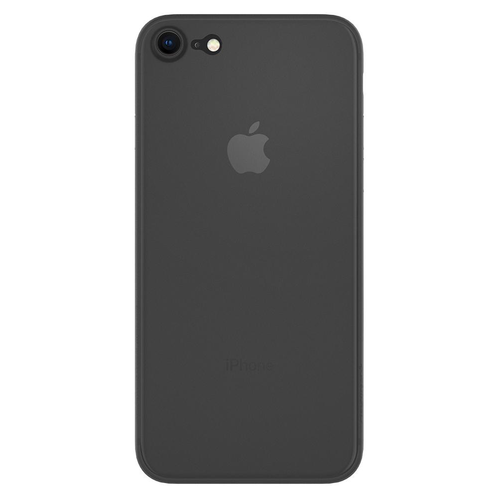 Air Skin	Black	Case	facing backwards showing the back design with the camera cutout on the	iPhone 7	device.