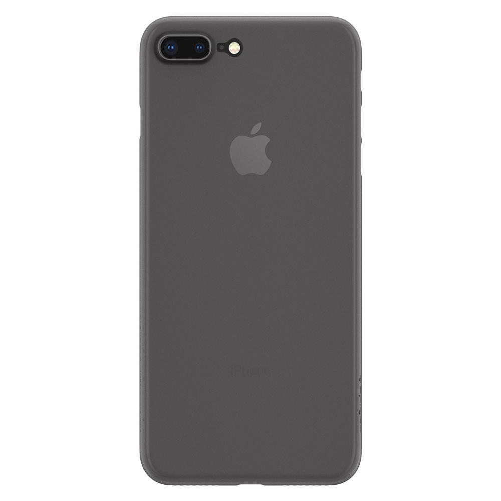 Air Skin	Black	Case	facing backwards showing the back design with the camera cutout on the	iPhone 7 Plus	device.