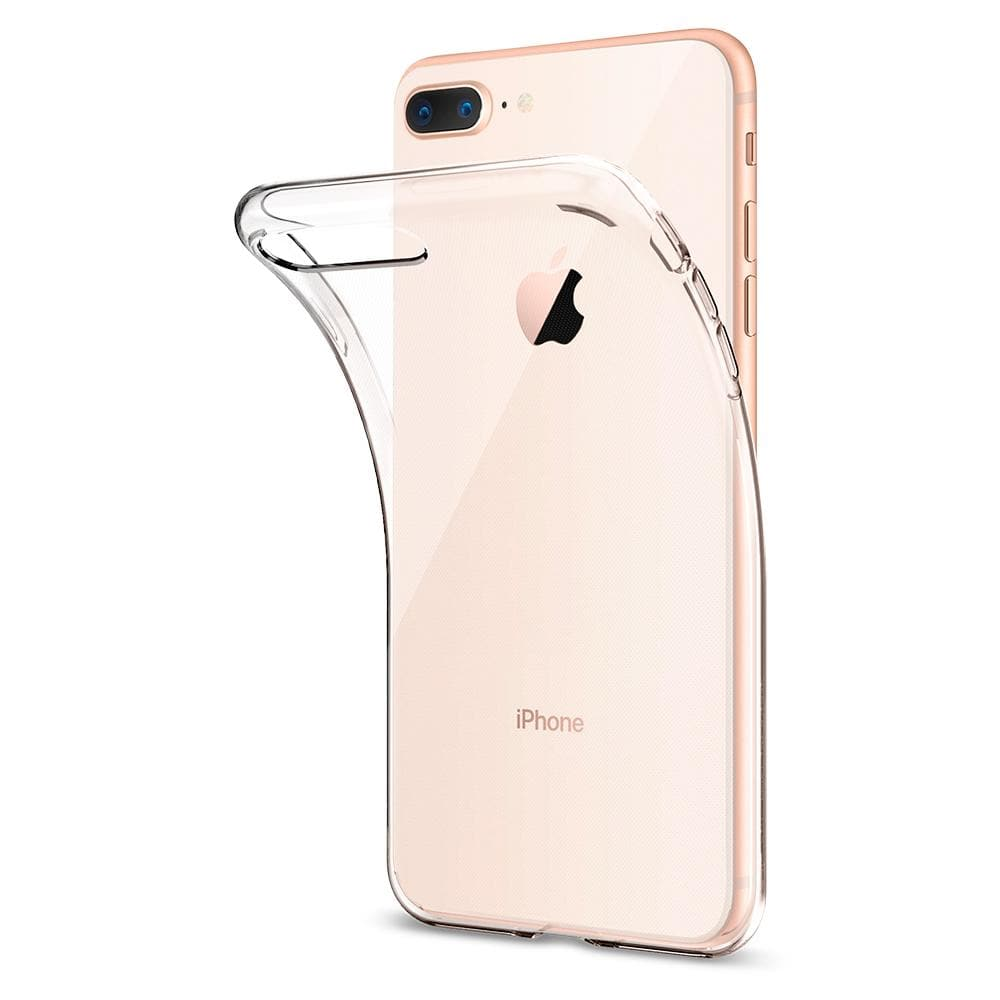 Liquid Crystal 2	Crystal Clear	Case	attached and bending away from the	iPhone 8 Plus/7 Plus	device.