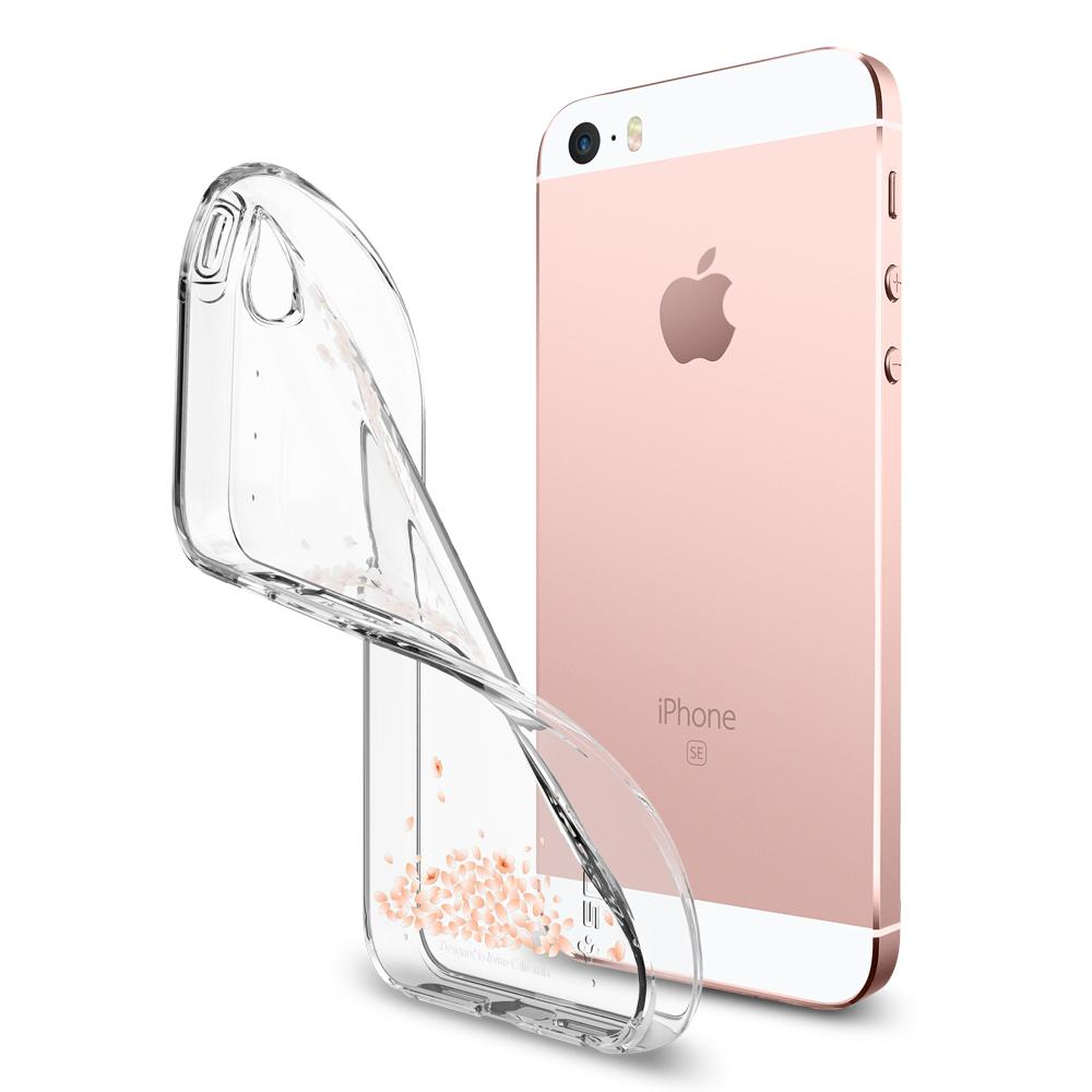 Liquid Air	Shine Blossom	Case	bent away and detaching from the	iPhone SE/5s/5	device.