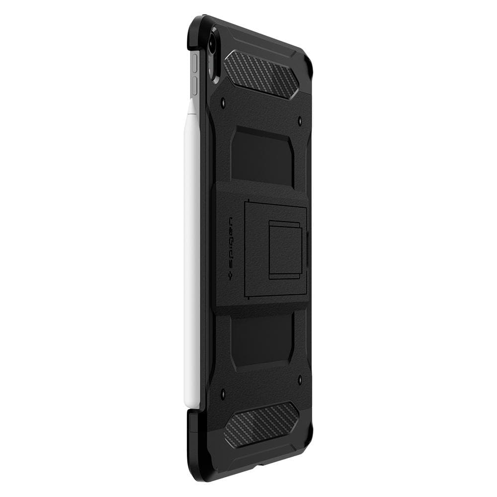 Tough Armor TECH	Black	Case	side view showing the up and down volume buttons.