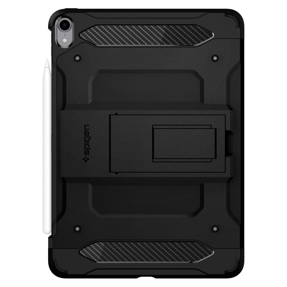 Smart Fold	Black	Case	facing backwards showing the back design with the camera cutout on the	iPad Pro 12.9