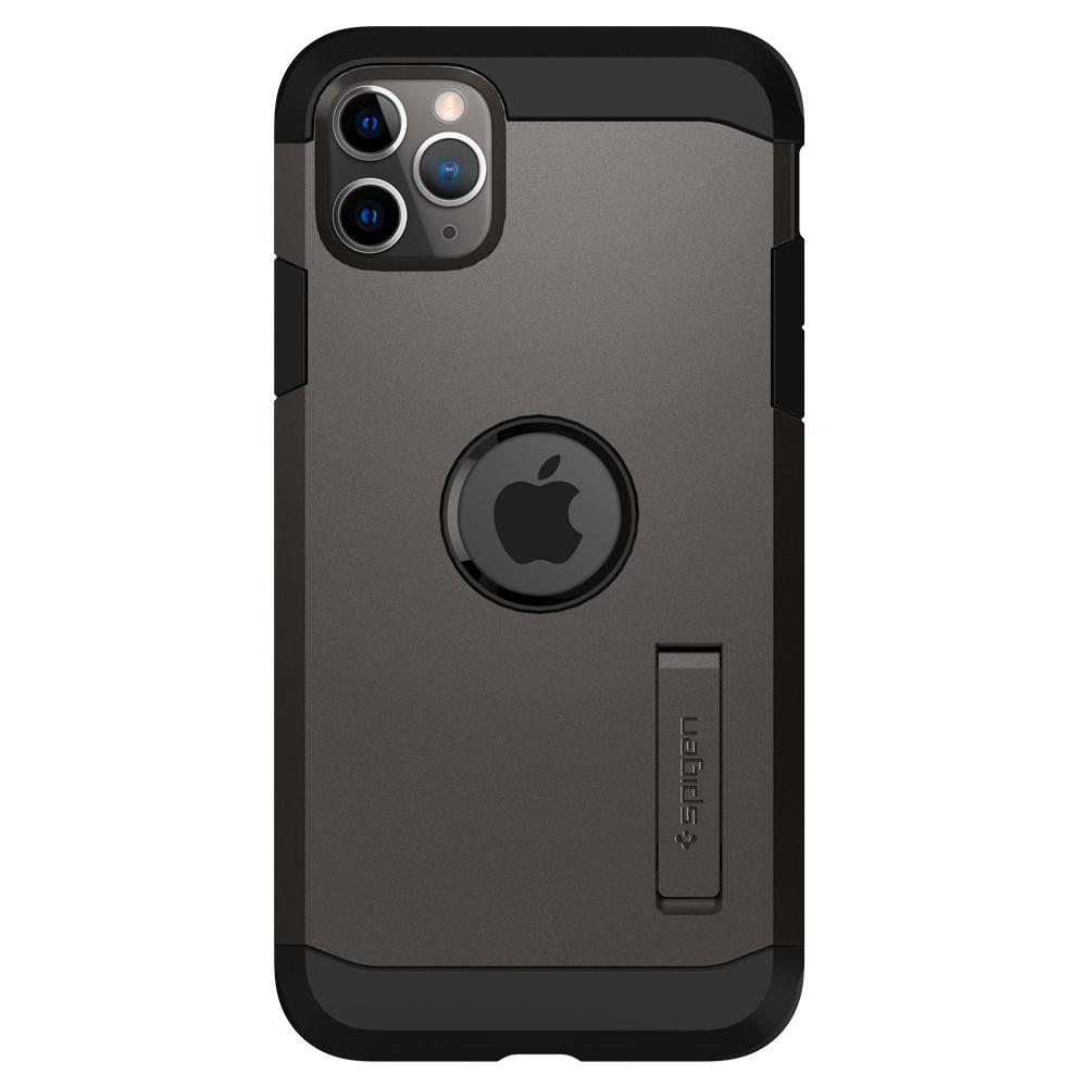 Tough Armor	Case	XP Gunmetal	facing backwards showing the back design with the camera cutout on the	iPhone 11 PRO	device.