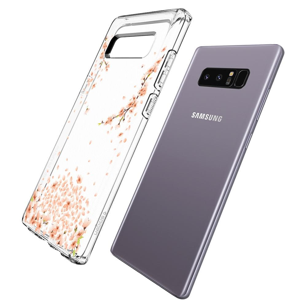 Galaxy Note 8 Case Liquid Crystal Blossom