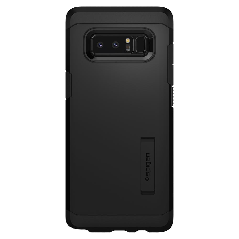 Tough Armor	Black	Case	facing backwards showing the back design with the camera cutout on the	Galaxy Note 8	device.