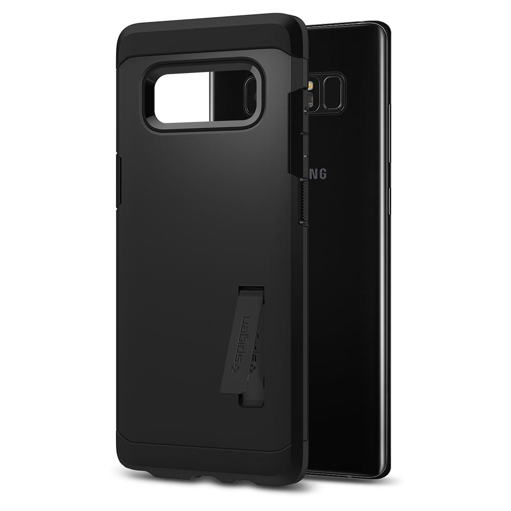 Tough Armor	Black	Case	back design and a back view of the	Galaxy Note 8	device.