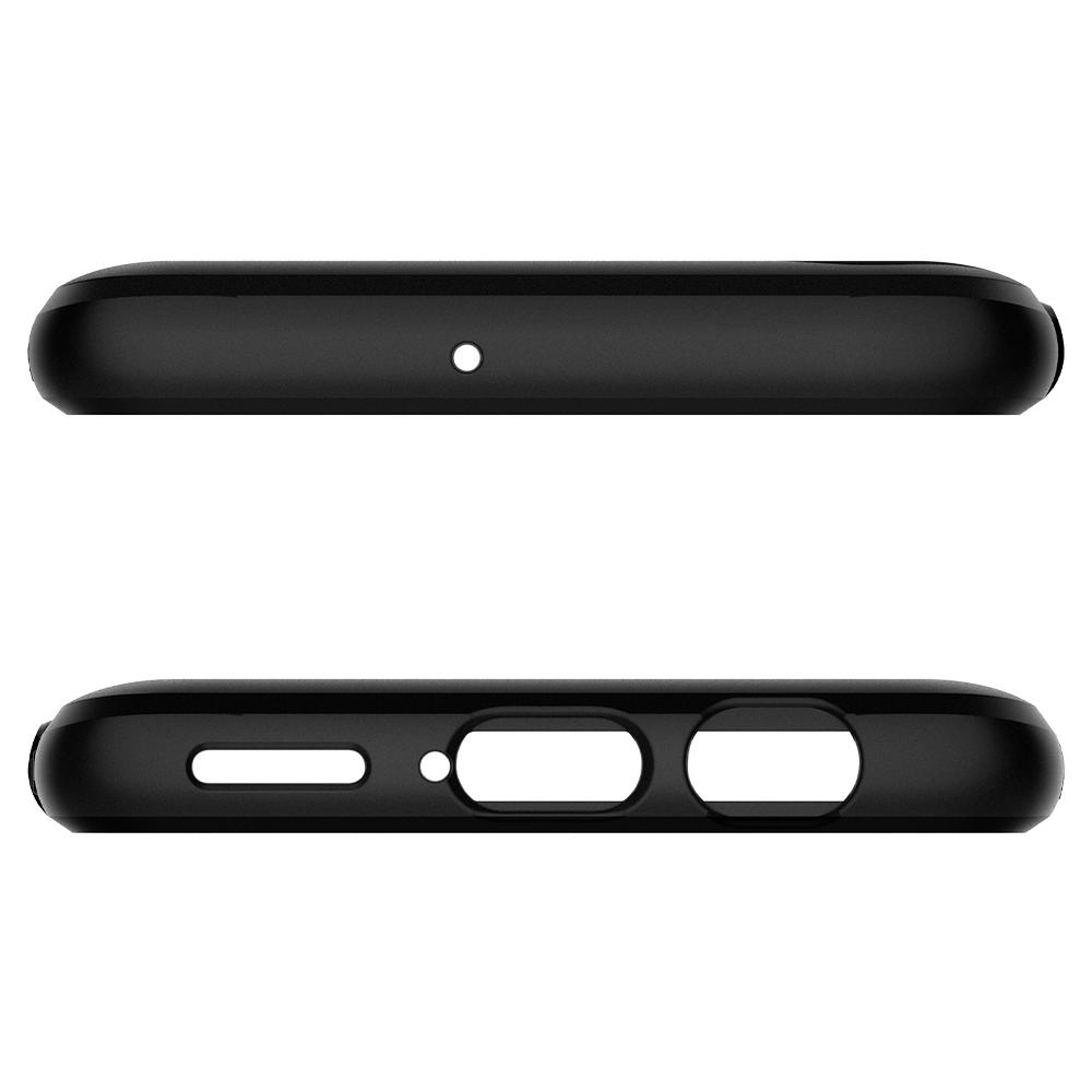 Slim Armor	Gunmetal	Case	showing the top and bottom with precise cutouts.