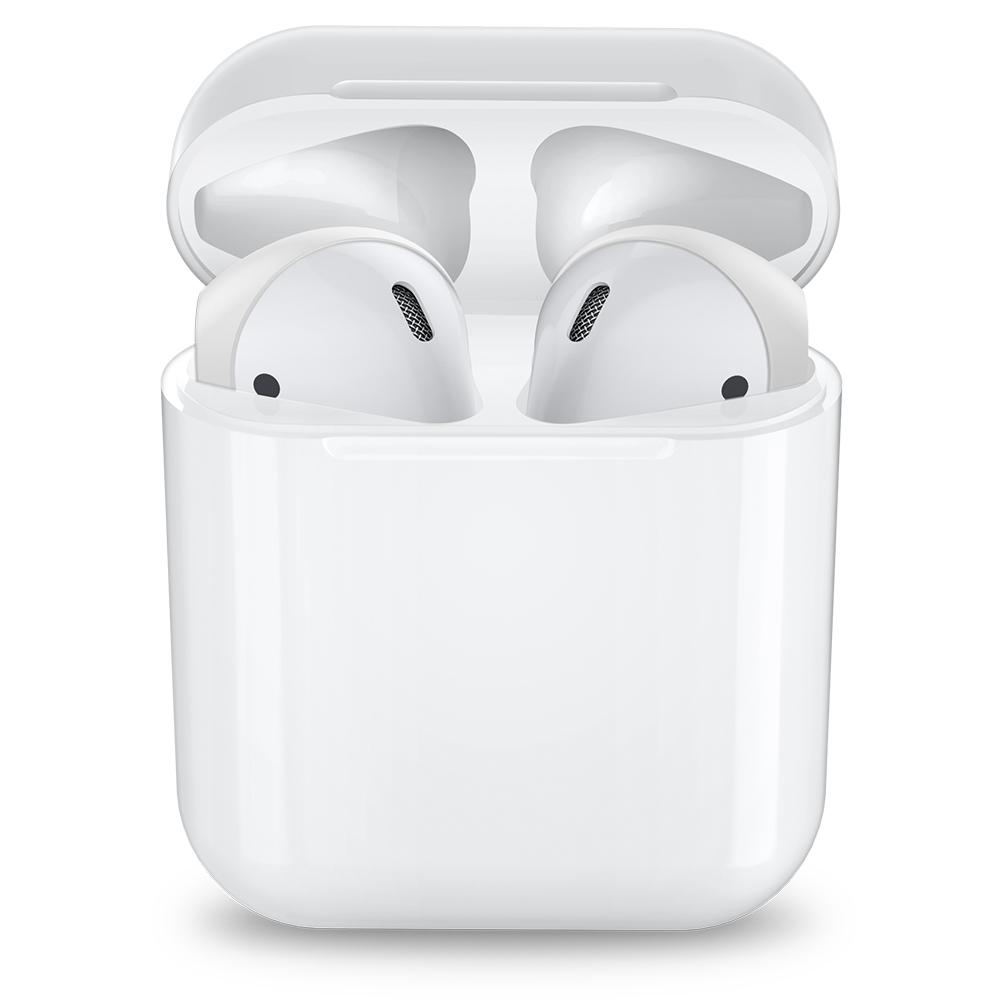 RA220 AirPods Ear Tips (Silicone Cover)	White	showing the precise cutouts.