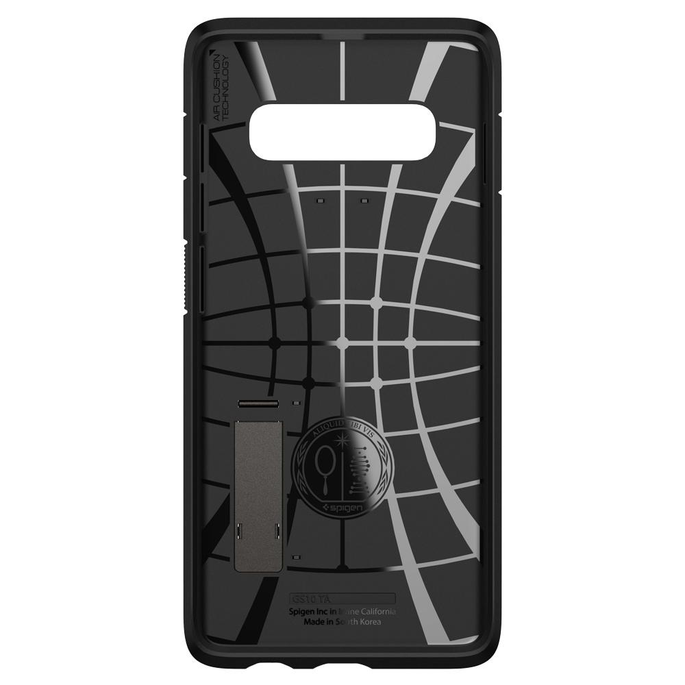 Tough Armor	Gunmetal	Case	showing the inner lining.