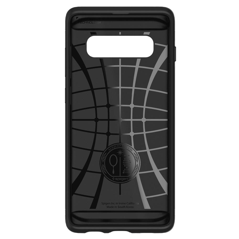 Slim Armor CS	Gunmetal	Case	showing the inner lining.