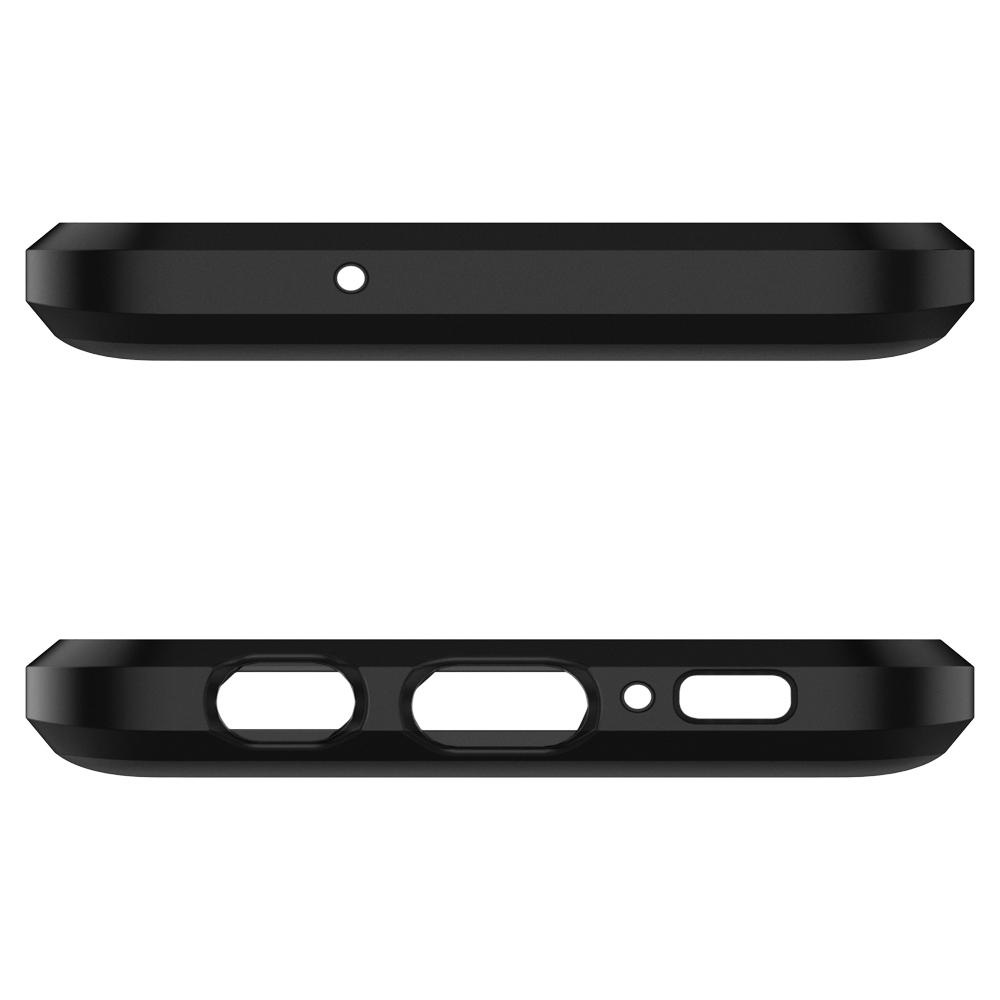 Tough Armor	Gunmetal	Case	showing the top and bottom with precise cutouts.