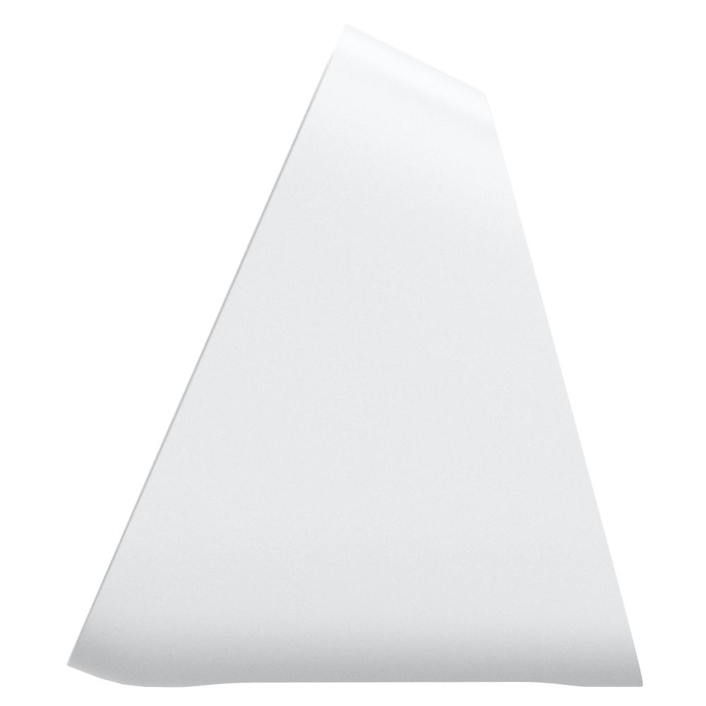Apple 2-in-1 Stand S316 in white showing the side