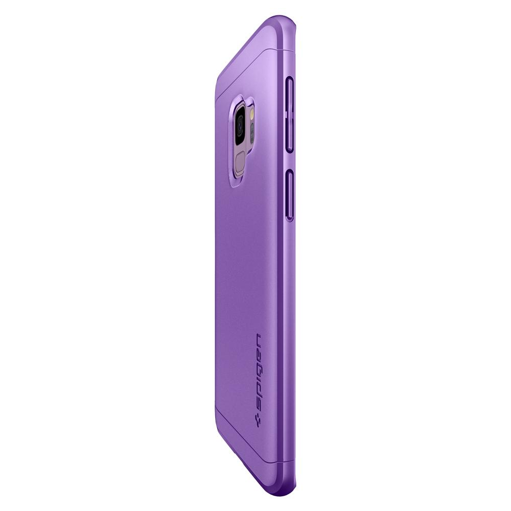 Thin Fit 360	Lilac Purple	Case	side view showing the up and down volume buttons.