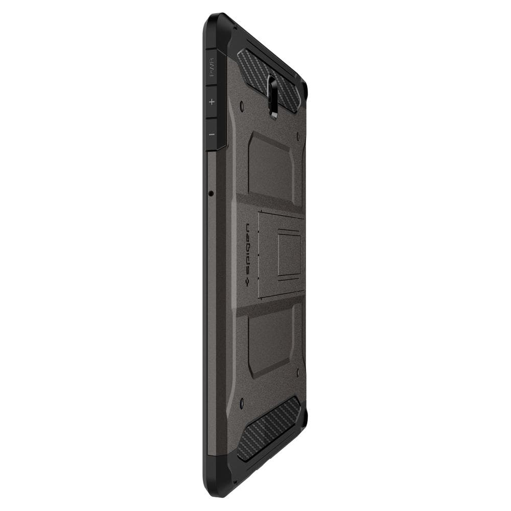 Tough Armor TECH (Glass Screen Protector/Ver.2)	Gunmetal	Case	side view showing the up and down volume buttons.