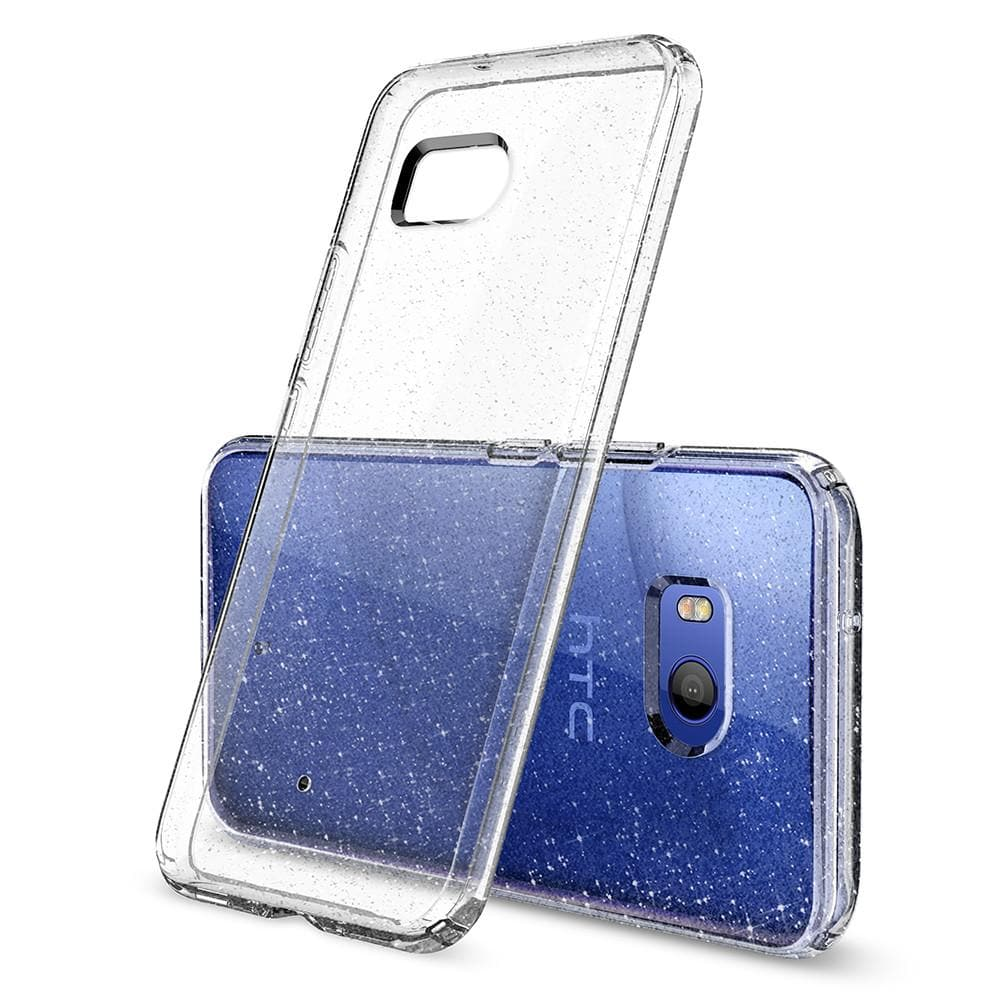 HTC U 11 Case Liquid Crystal Glitter