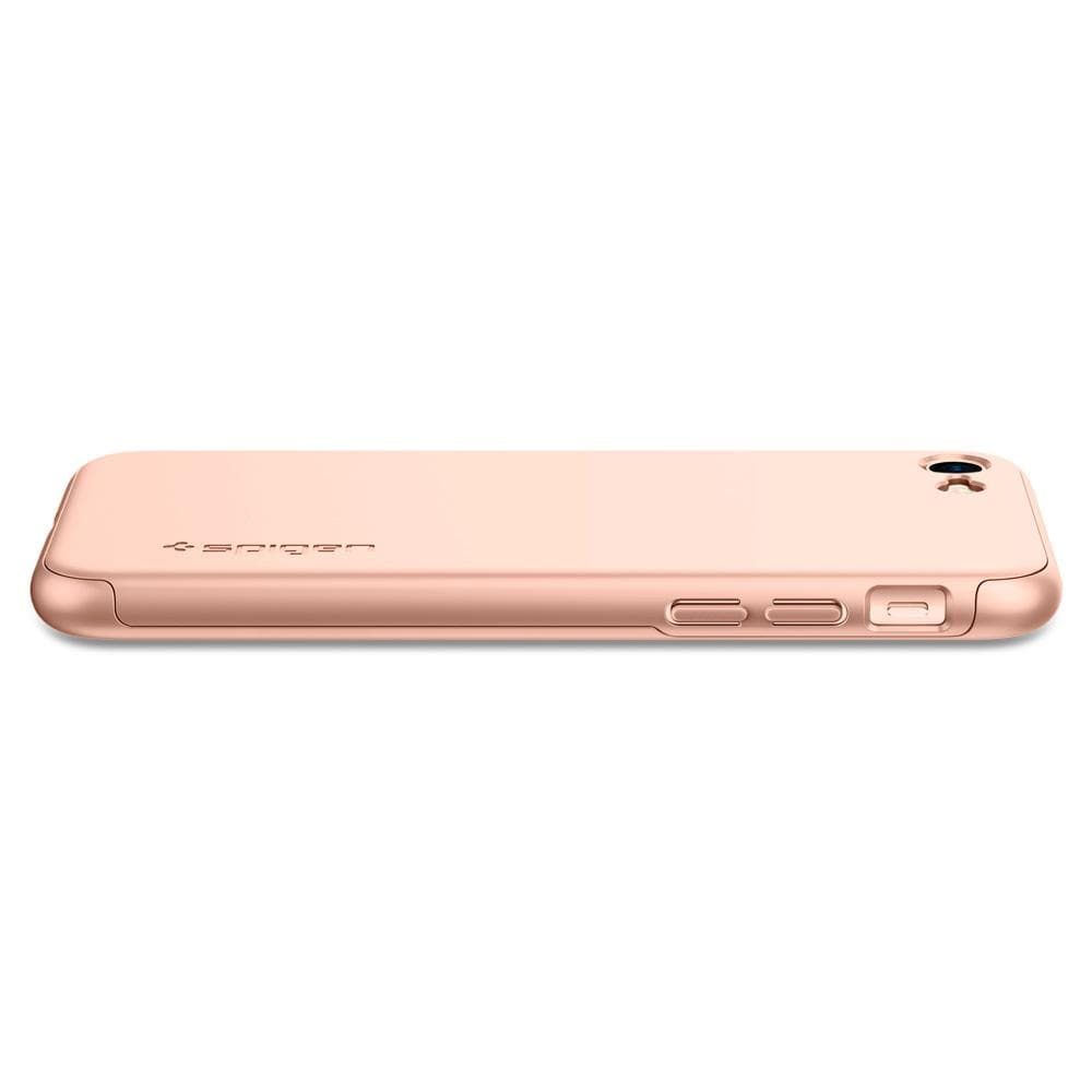 Thin Fit 360	Blush Gold	Case	side view showing the up and down volume buttons.