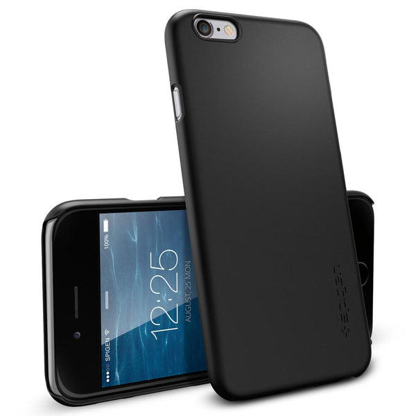 size 40 91cf8 af9a4 iPhone 6 Case Thin Fit - Smooth Black / In Stock