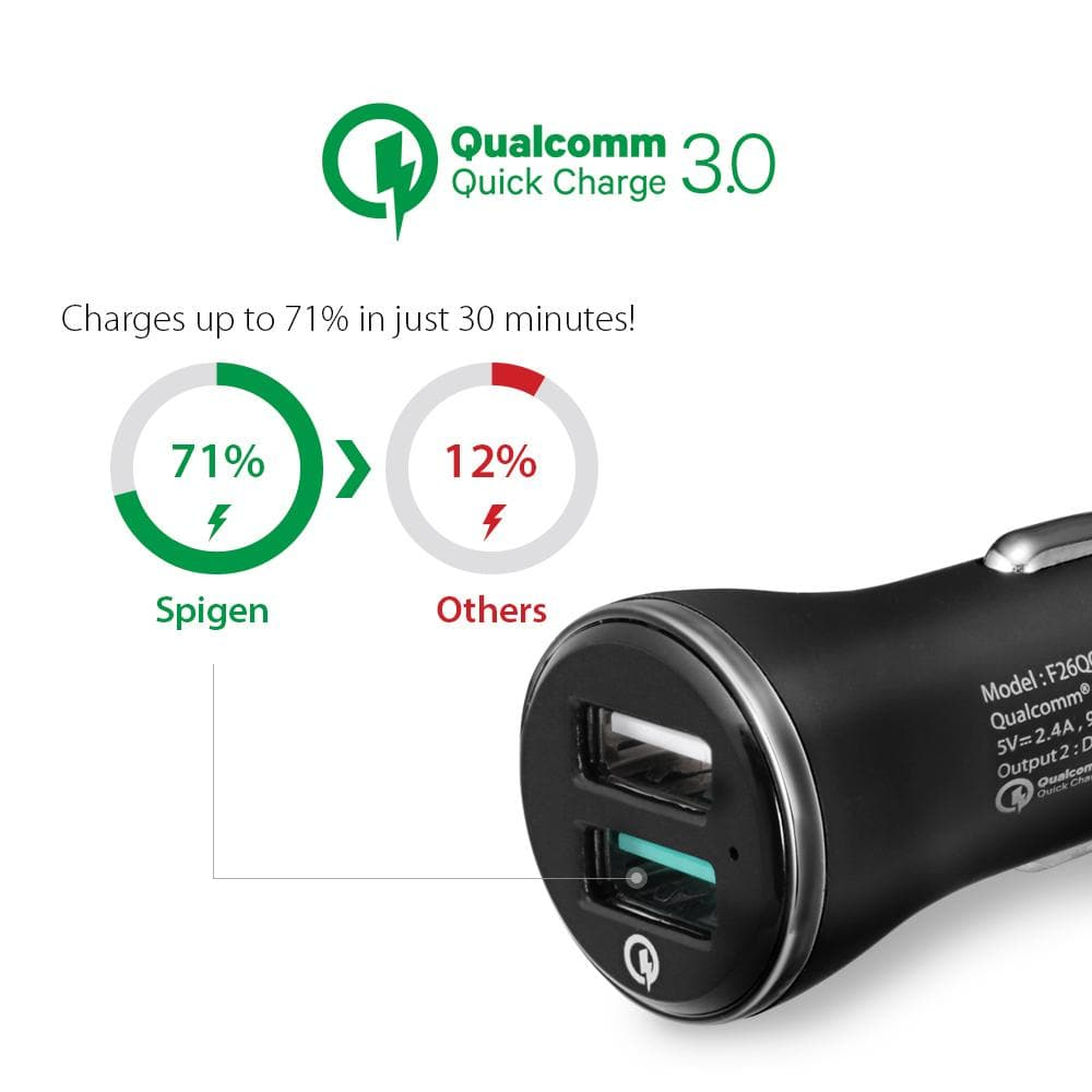F27QC Quick Charge 3.0 Car Charger