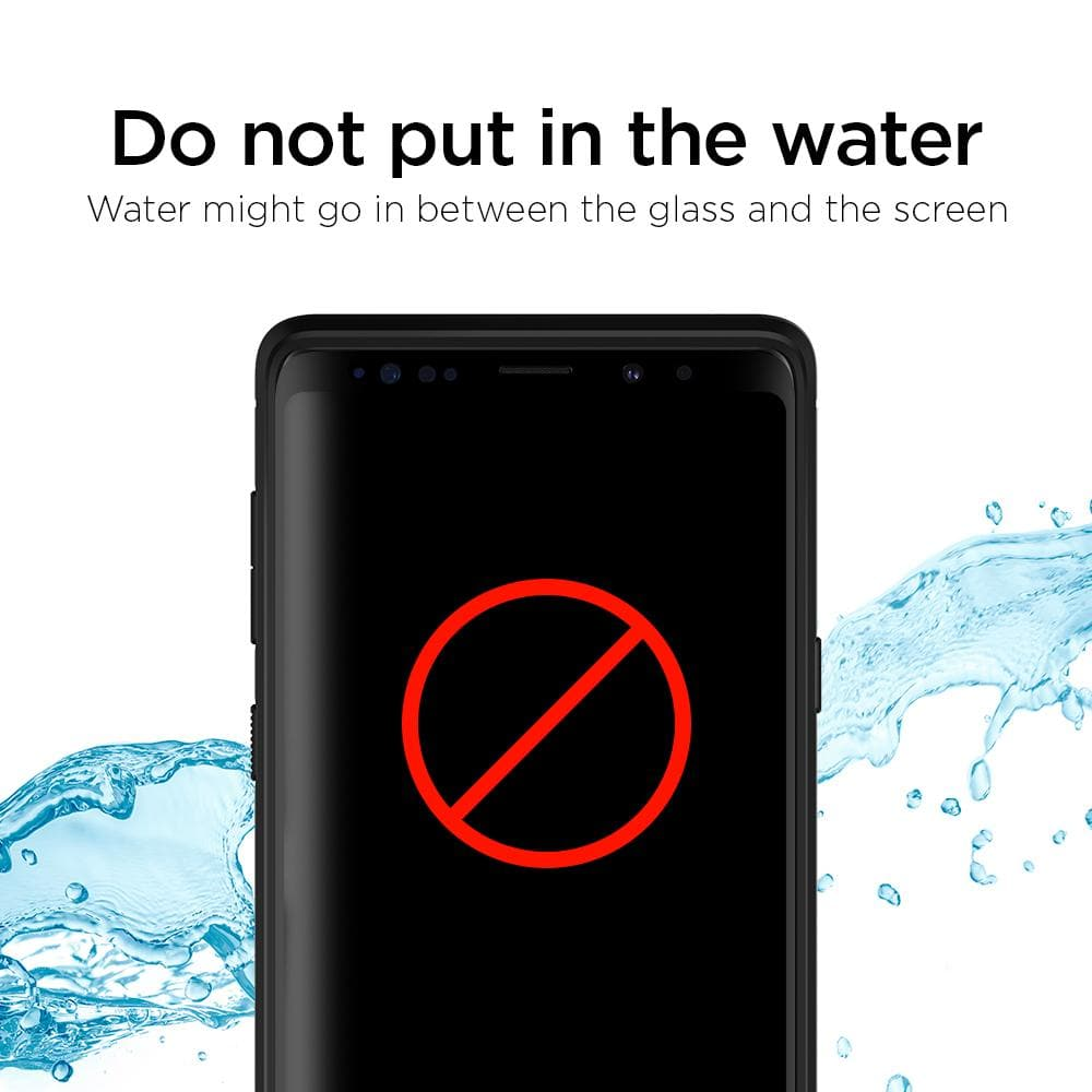 Galaxy Note 9 Screen Protector GLAS.tR Curved HD