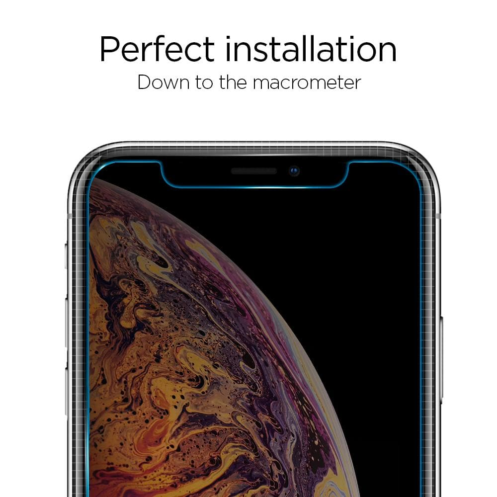 iPhone XS/X Screen Protector EZ FIT GLAS.tR Privacy