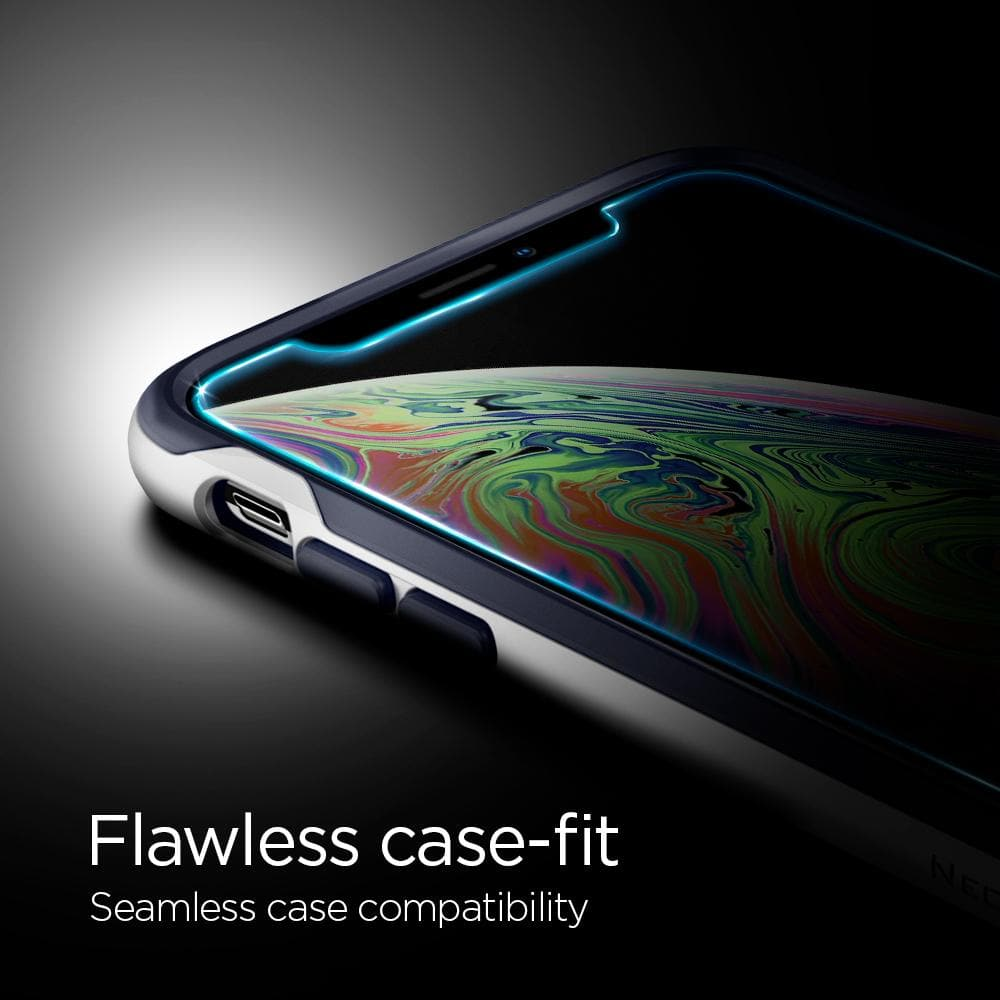 iPhone XS Max Screen Protector EZ FIT GLAS.tR SLIM