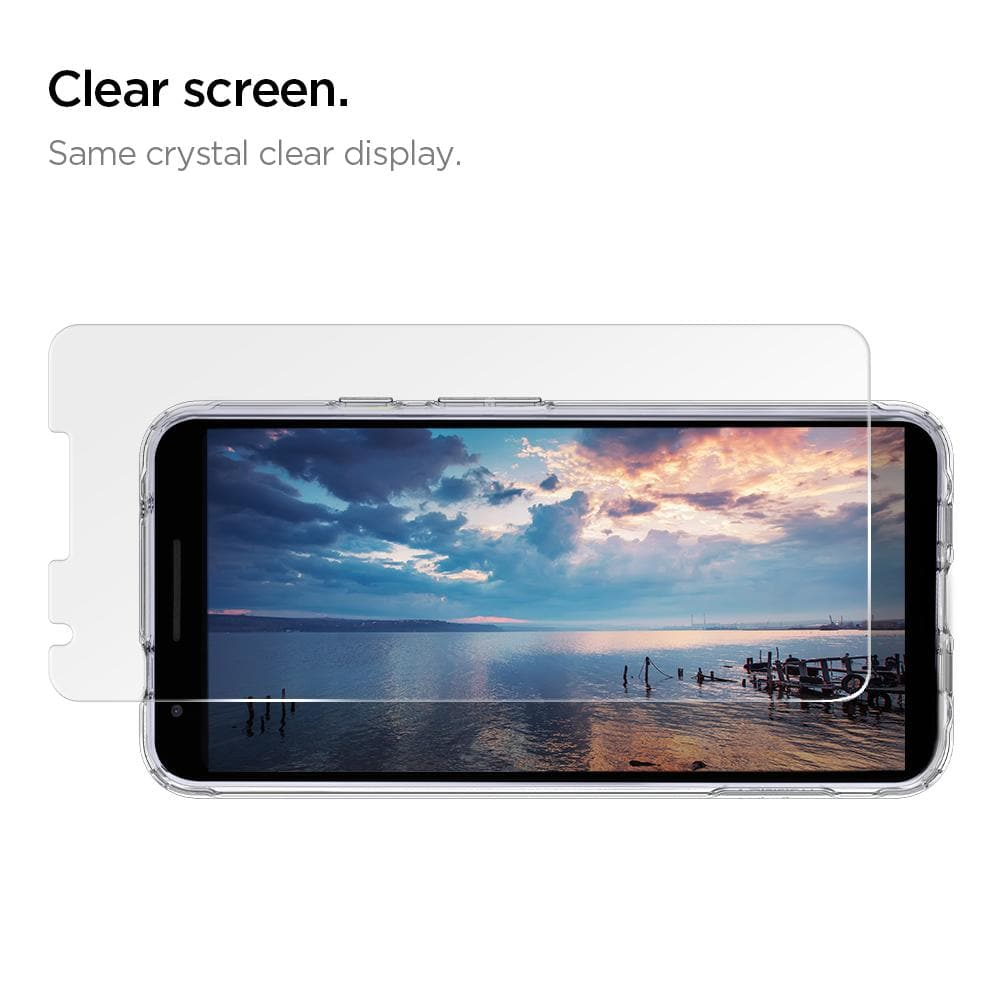 Google Pixel 3a XL Screen Protector GLAS.tR SLIM [2 Pack]