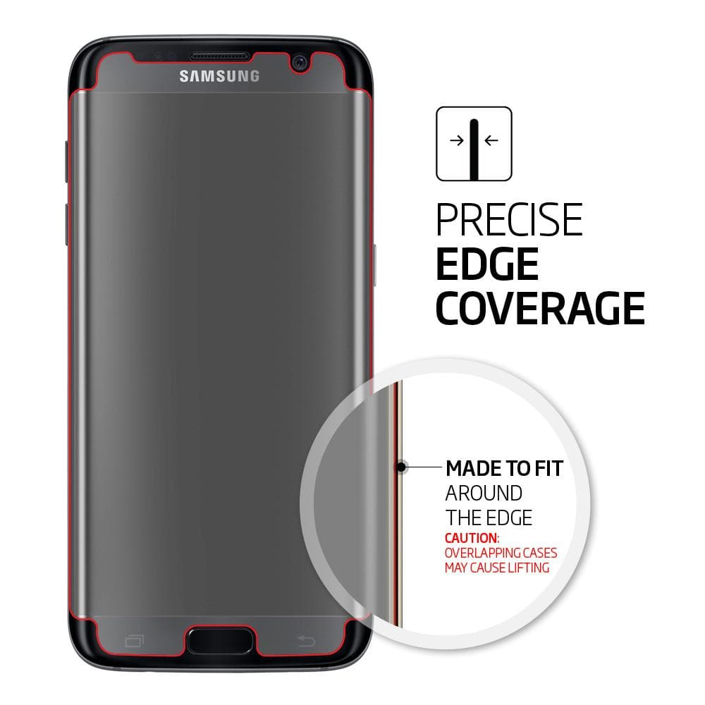 Galaxy S7 Edge Screen Protector Curved Crystal HD