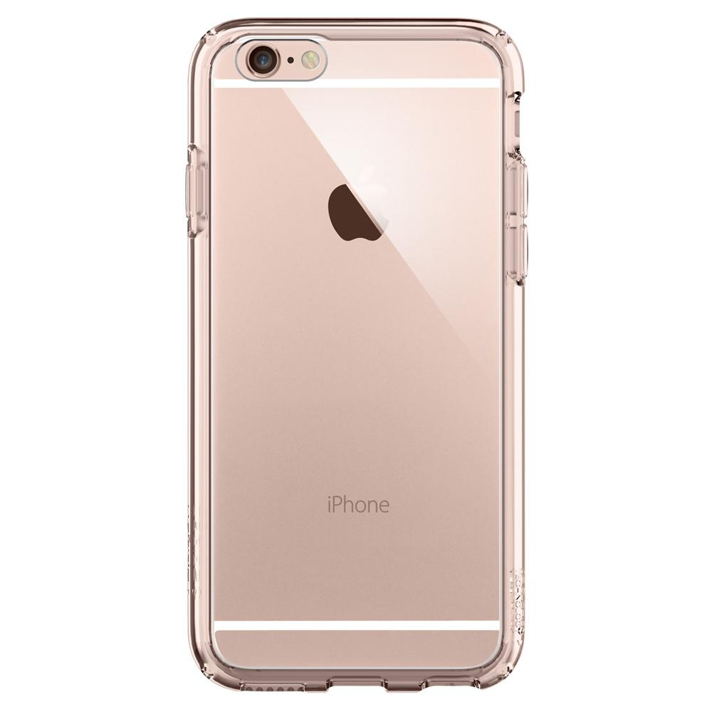 Ultra Hybrid	Rose Crystal facing backwards showing the back design with the camera cutout on the	iPhone 6S	device.