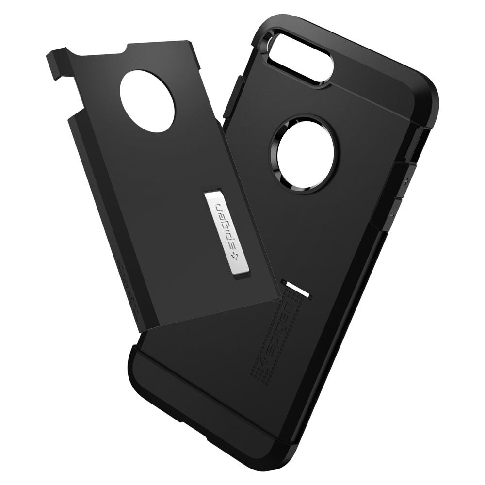 Tough Armor	Black	Case	separated showing the outer PC layer and the inner TPU layer
