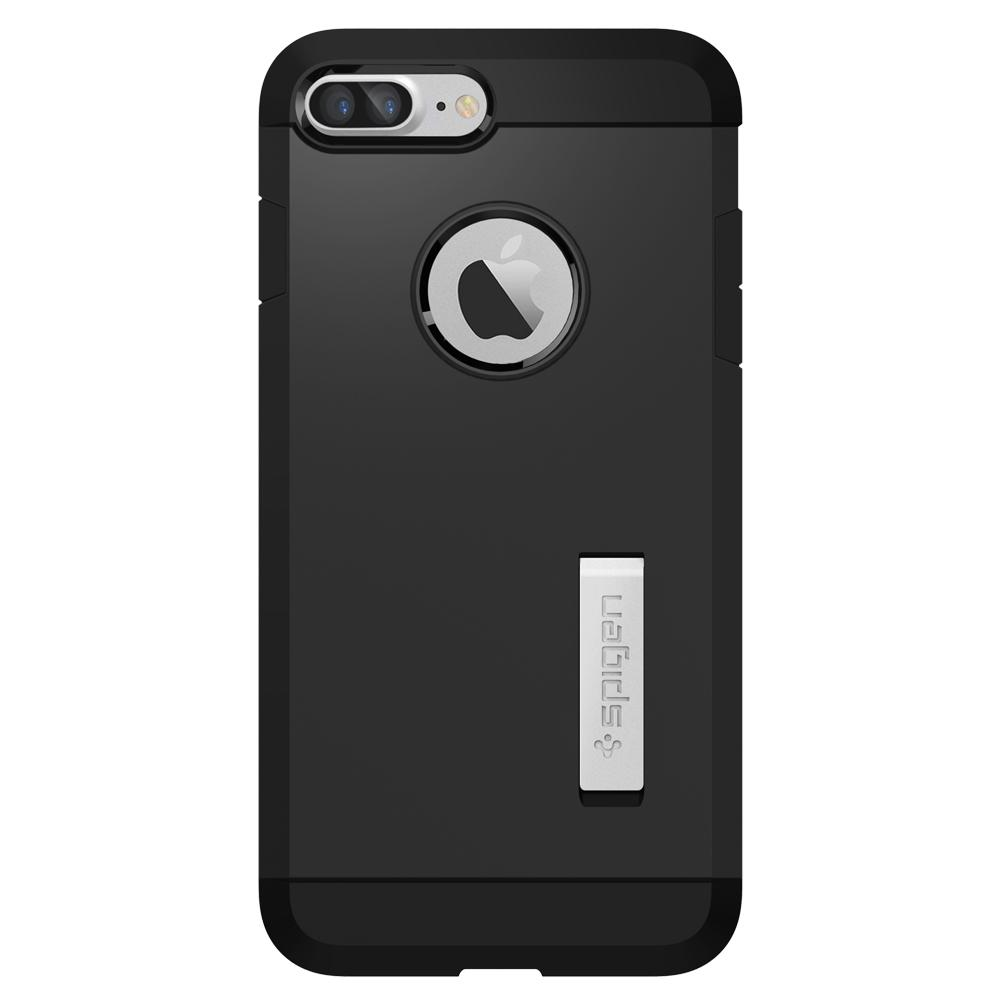 Tough Armor	Black	Case	facing backwards showing the back design with the camera cutout on the	iPhone 7 Plus	device.