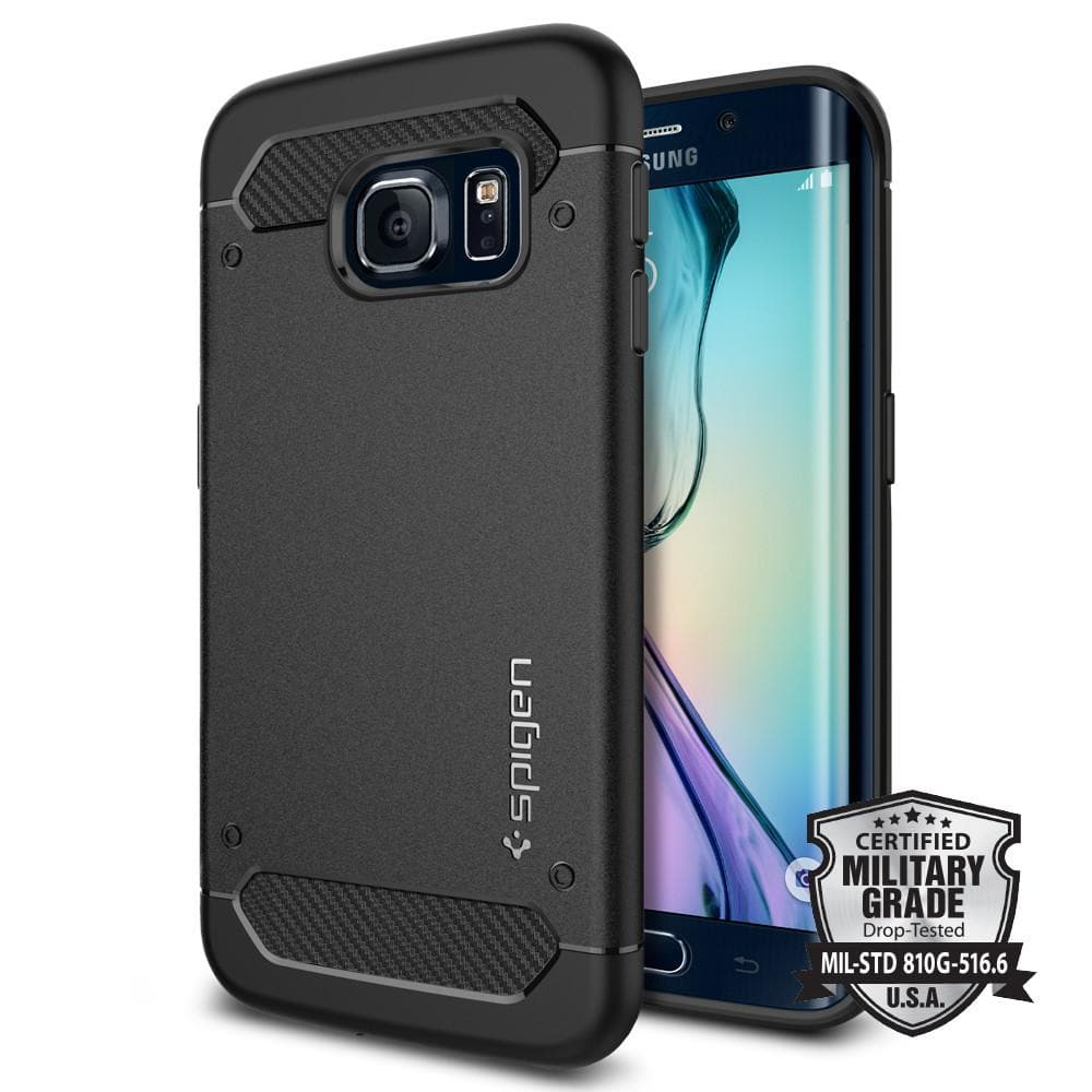 quality design a5f5b 6790d Galaxy S6 Edge Case Rugged Armor