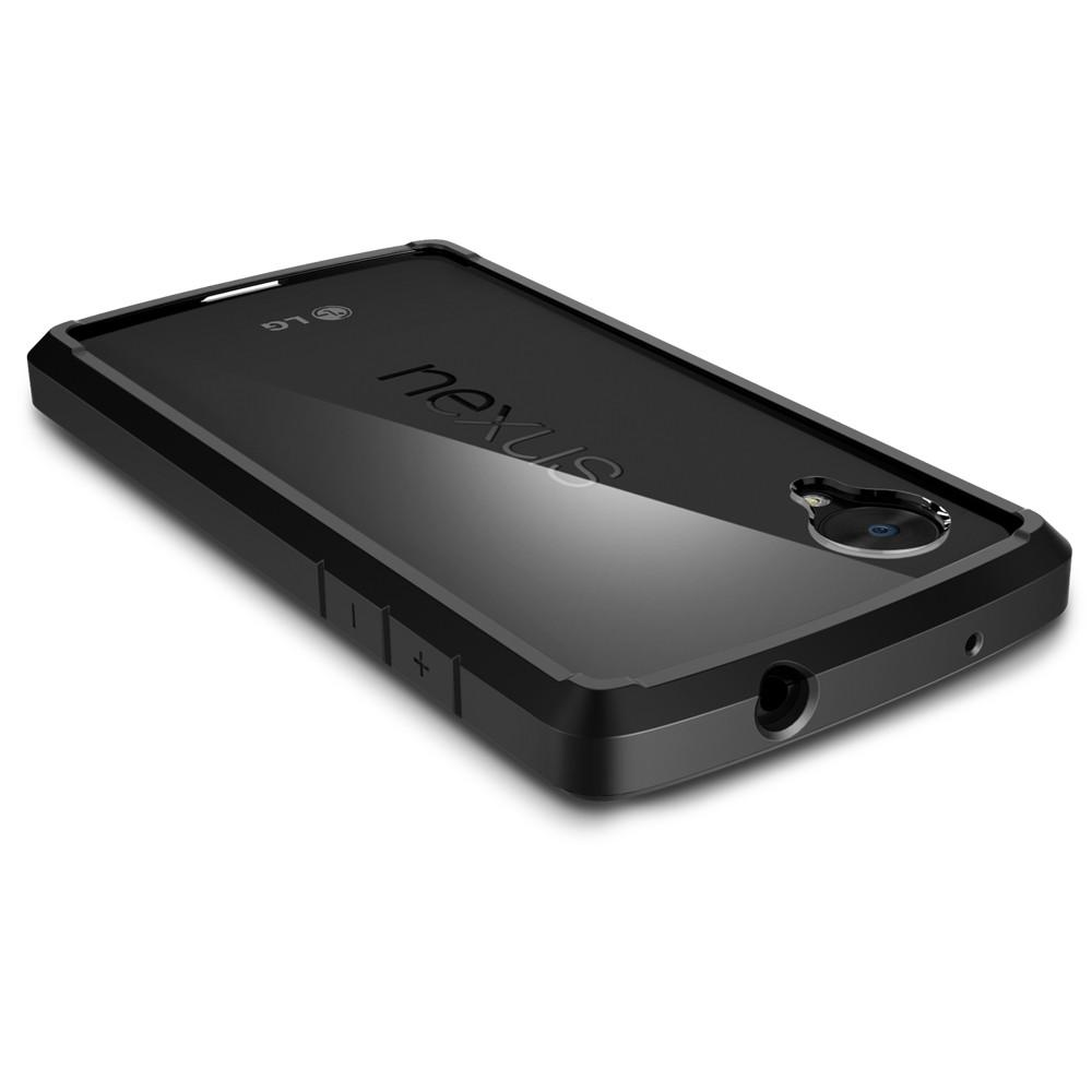 Ultra Hybrid (ECO)	Black	Case showing the back design on the	Nexus 5	device.