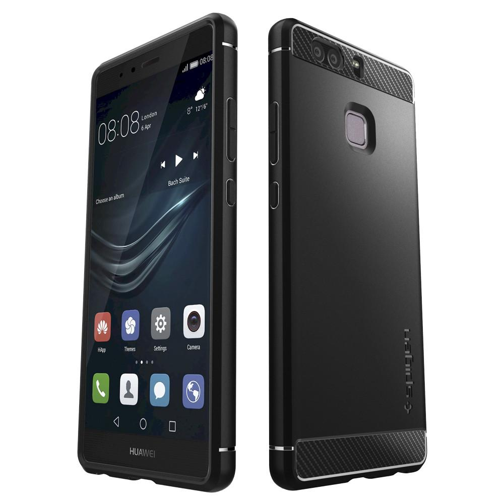 detailed look fed45 3d01a Huawei P9 Case Rugged Armor