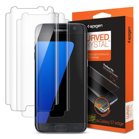 samsung s6 edge screen protector and case