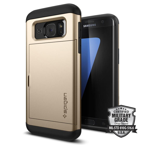 check out a1fab 50175 Galaxy S7 Edge Case Slim Armor CS - Champagne Gold / In Stock