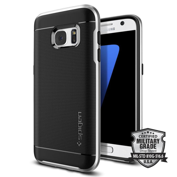size 40 39b17 bfc44 Galaxy S7 Case Neo Hybrid - Satin Silver / In Stock