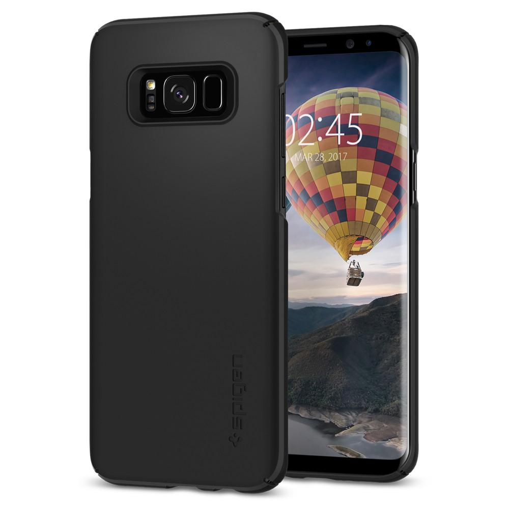 Liquid Crystal	Crystal Clear	Case	back design and a front view of the edge around the	Galaxy S8+	device.