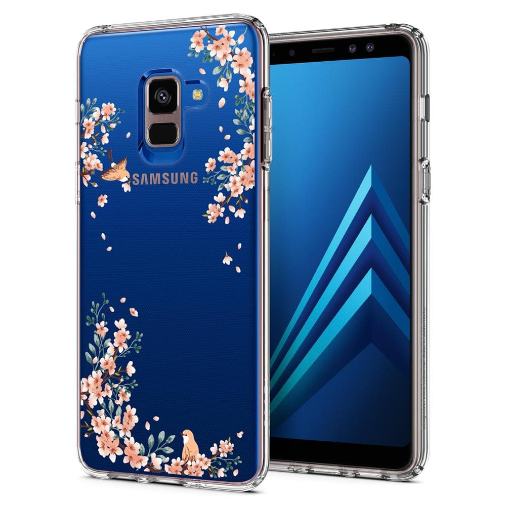 Galaxy A8 (2018) Case Liquid Crystal Blossom Nature