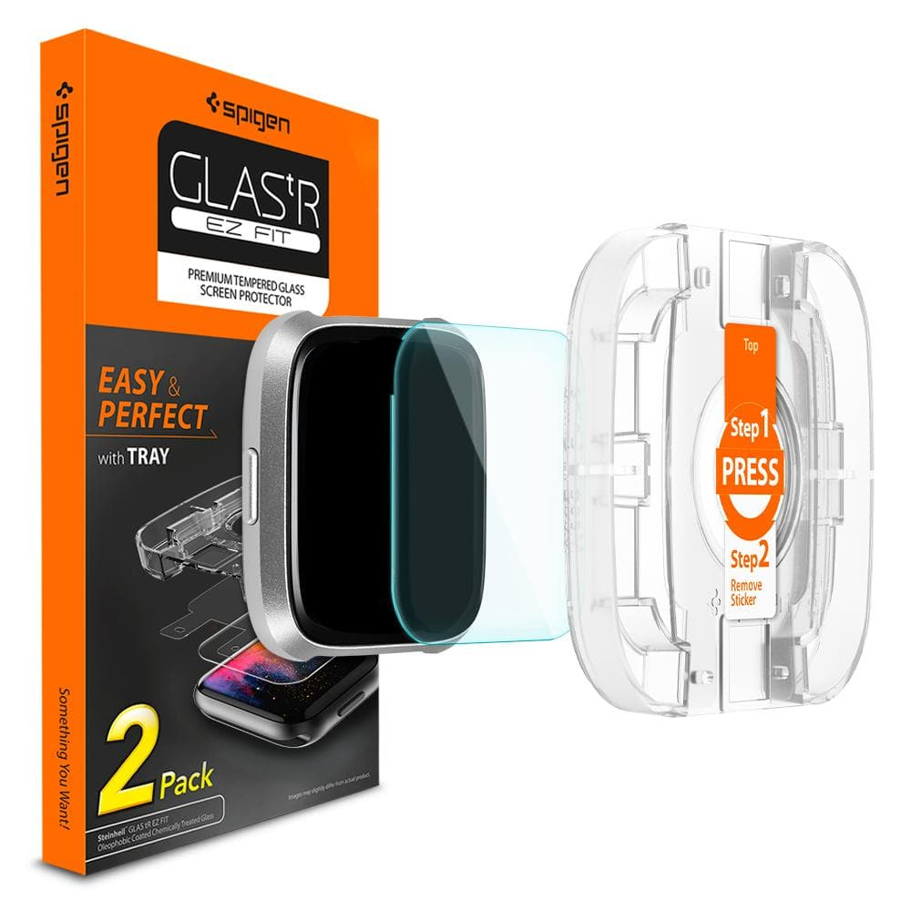 Fitbit Versa Screen Protector EZ FIT GLAS.tR