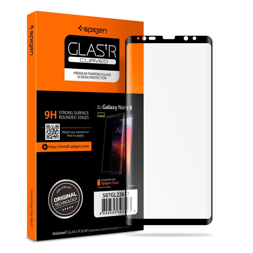 Galaxy Note 8 Screen Protector GLAS.tR Curved [1 Pack]