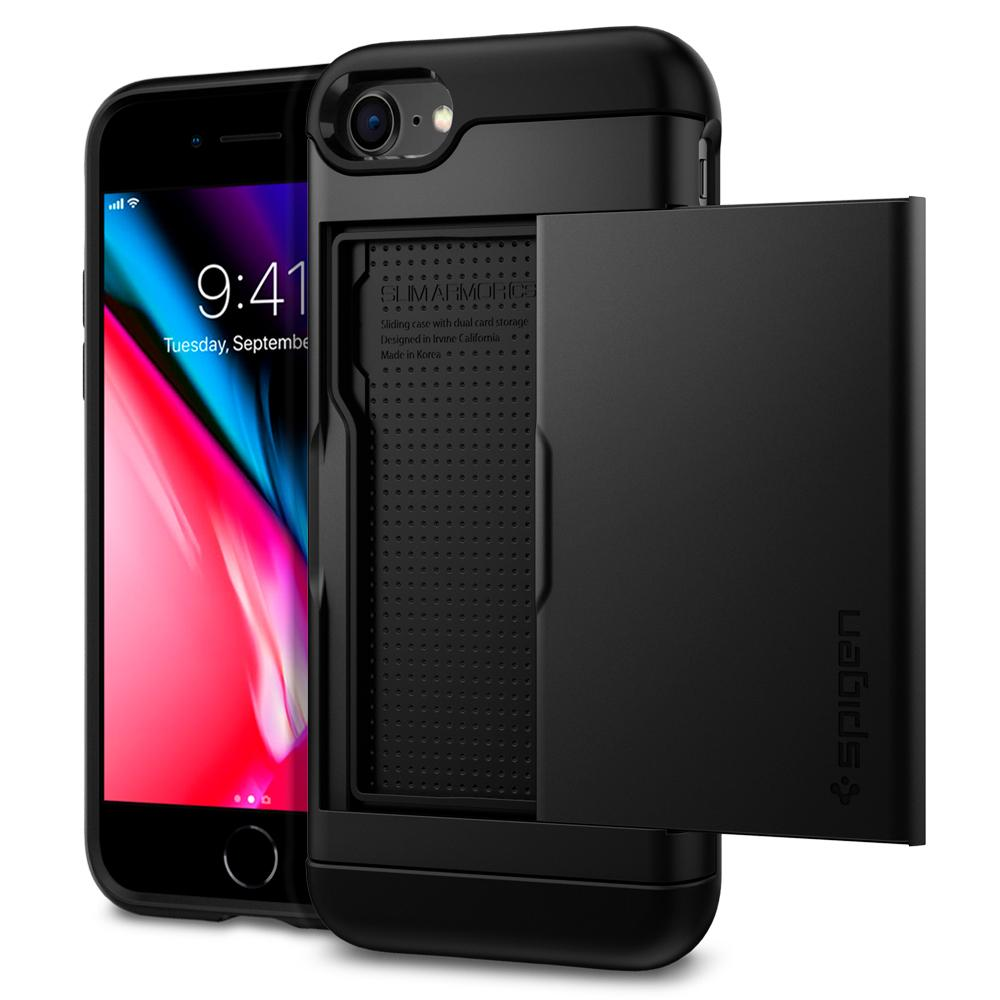 iphone 8 case slim armor cs spigen inc. Black Bedroom Furniture Sets. Home Design Ideas