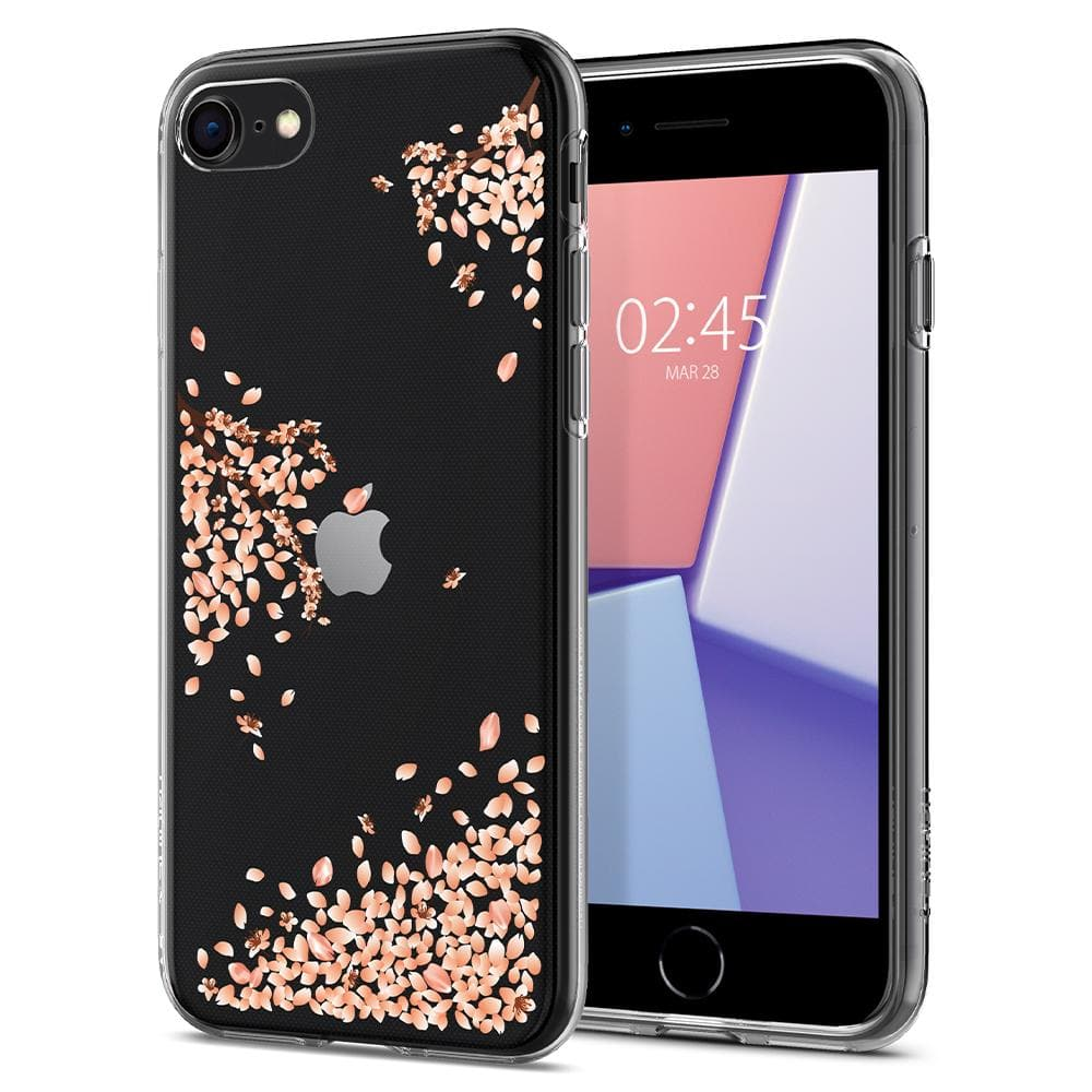 iPhone SE (2020) Case Liquid Crystal Blossom