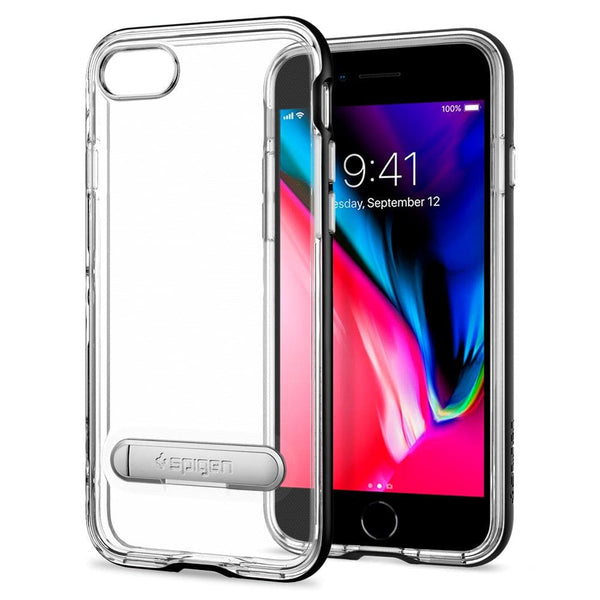 iphone 8 case crystal hybrid spigen inc. Black Bedroom Furniture Sets. Home Design Ideas