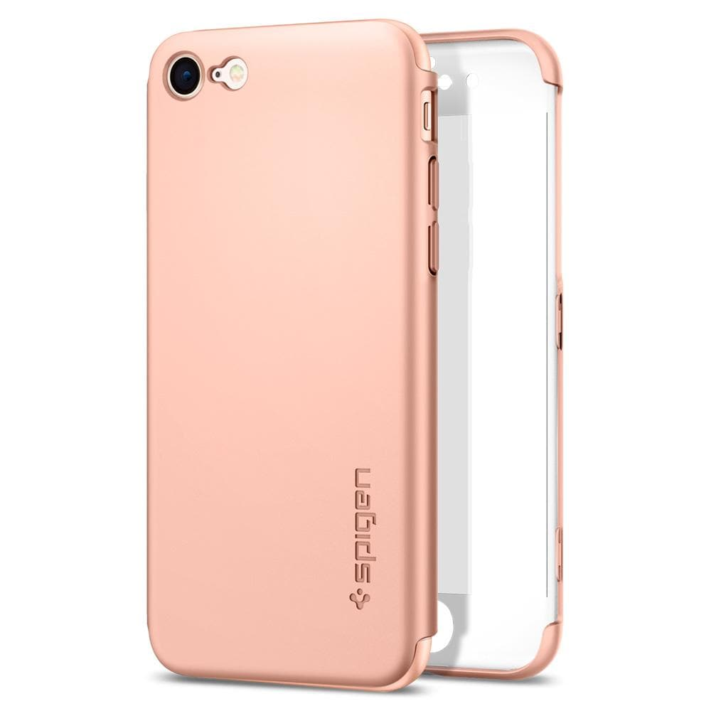 Thin Fit 360	Blush Gold	Case	back design and the front piece.