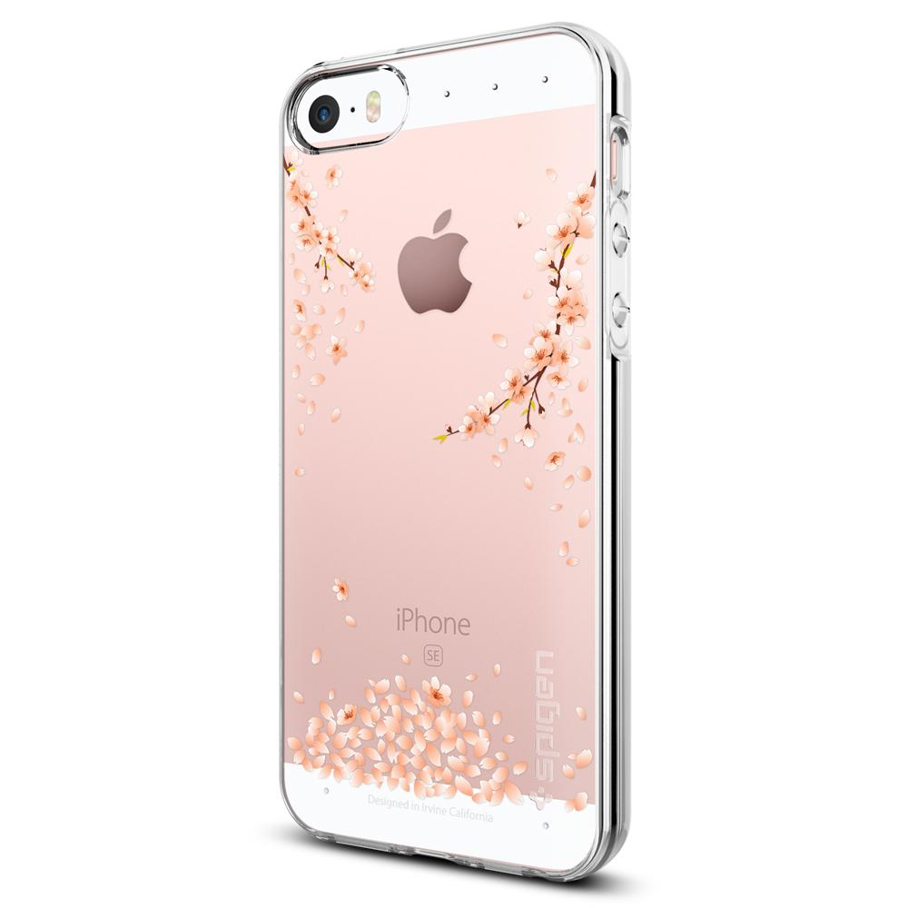 iPhone SE/5s/5 Case Liquid Crystal Blossom